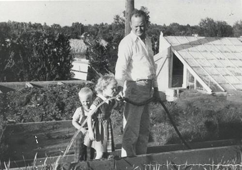 Doug, Sandy & Bob October 1953