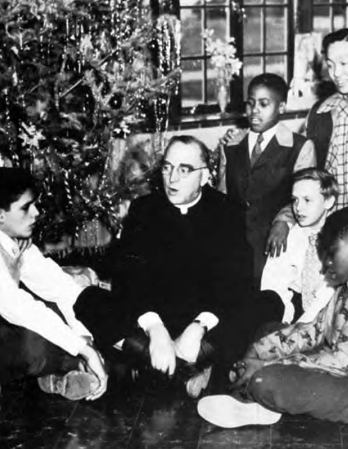 Photo 2 Father Flanagan and boys