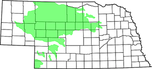 Sandhills-Map